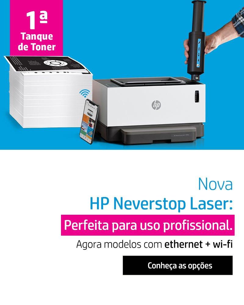 HP Neverstop Laser renovada