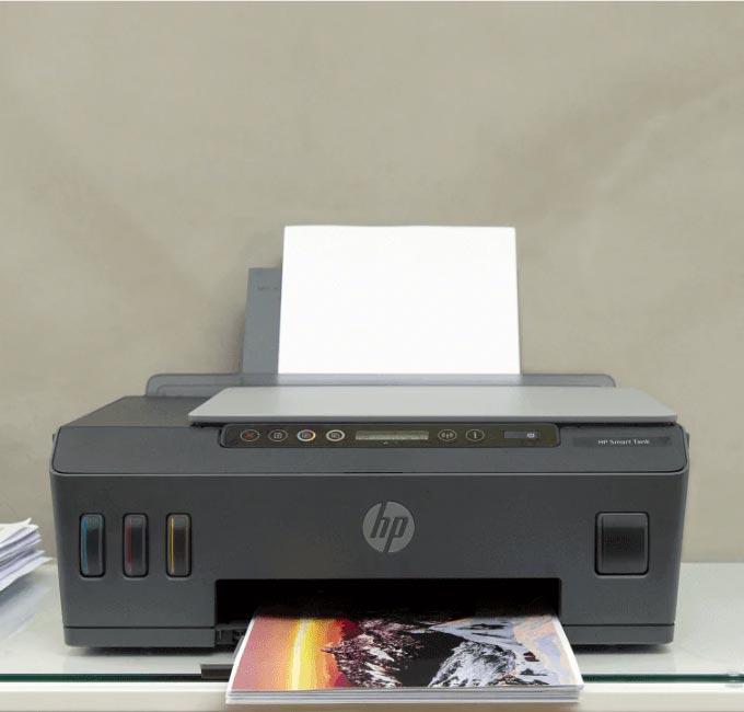 HP Smart Tank | Máxima liberdade de impressão