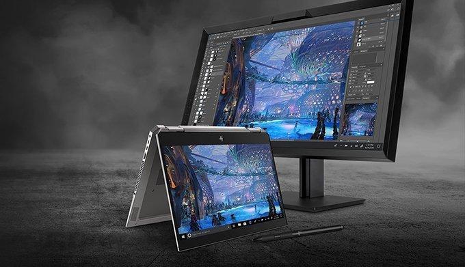 Uma experiência inigualável com monitores HP Z