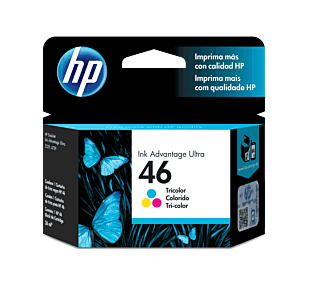 Cartucho de Tinta HP 46 Colorido Advantage Original