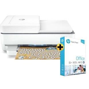 Impressora multifuncional HP DeskJet Plus Ink Advantage 6476 + Papel sulfite HP Office A4