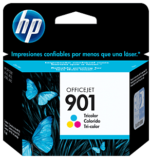 Cartucho de Tinta HP 901 Colorido Original