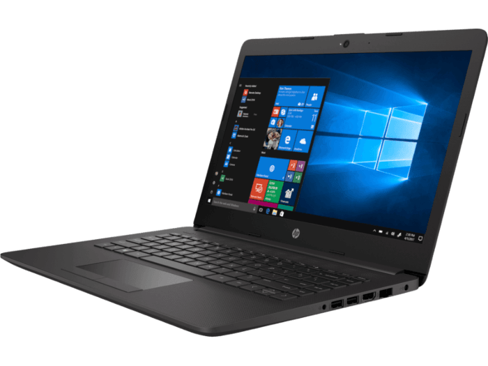 "Notebook - Hp 200p7la I3-1005g1 1.20ghz 4gb 256gb Ssd Intel Hd Graphics Windows 10 Home 246 G7 14"" Polegadas"