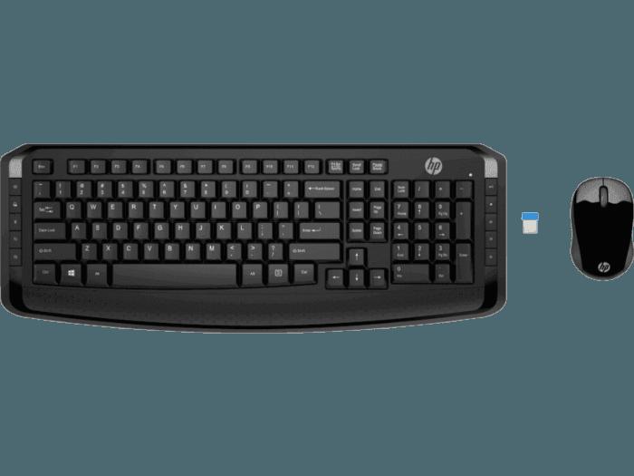 Teclado e Mouse Sem Fio HP 300