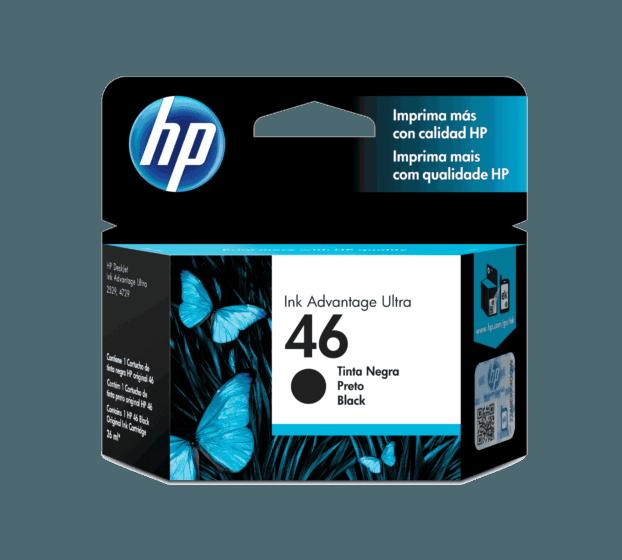 Cartucho de Tinta HP 46 Preto Advantage Original