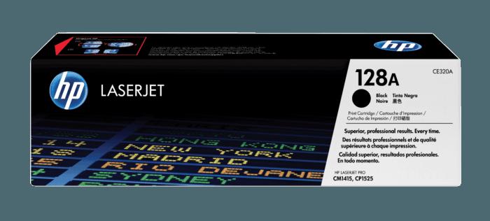 Cartucho de Toner HP 128A Preto LaserJet Original