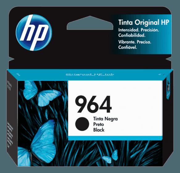 Cartucho de Tinta HP 964 Preto Original