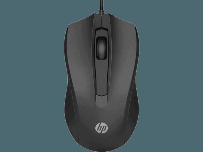 Mouse com fio HP 100