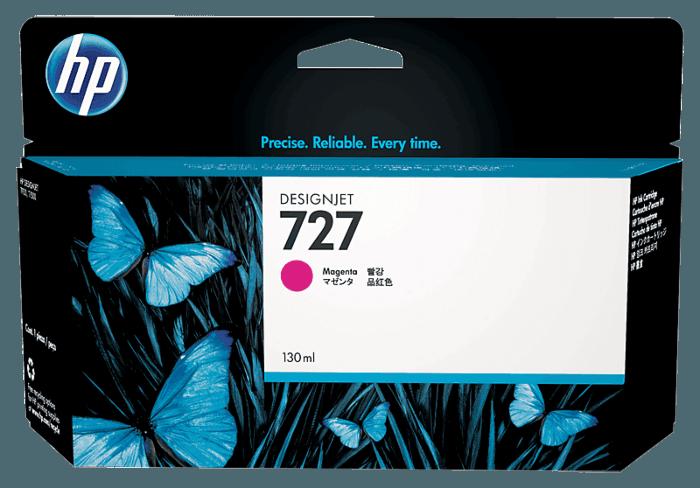 Cartucho de Tinta HP 727 Magenta DesignJet Original