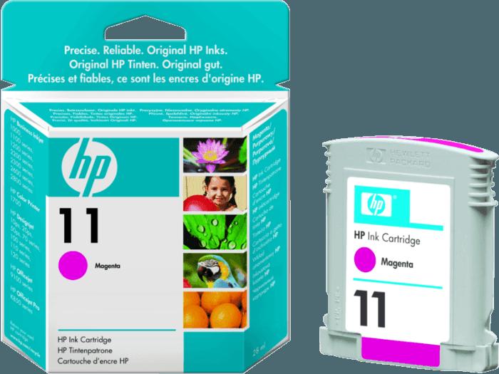 Cartucho de Tinta HP 11 Magenta Original