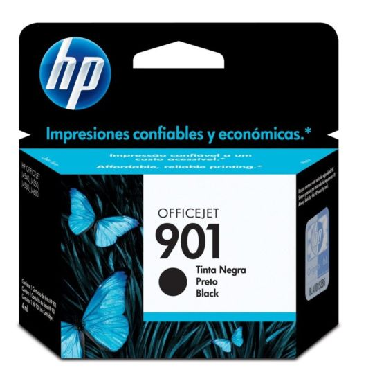 Cartucho de Tinta HP 901 Preto Officejet Original