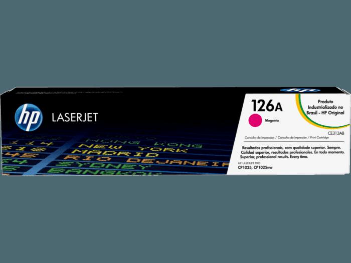 Cartucho de Toner HP 126A Magenta LaserJet Original