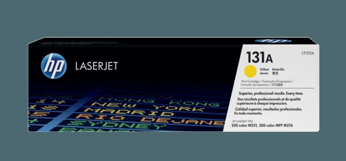 Cartucho de Toner HP 131A Amarelo LaserJet Original