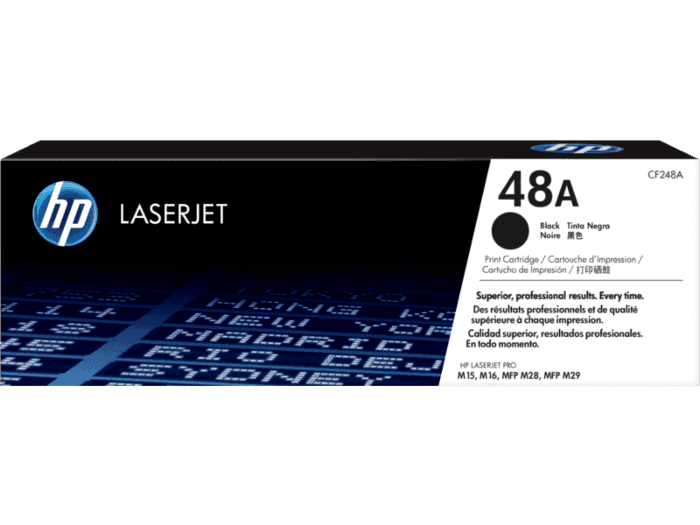 Cartucho de Toner HP 48A Preto LaserJet Original