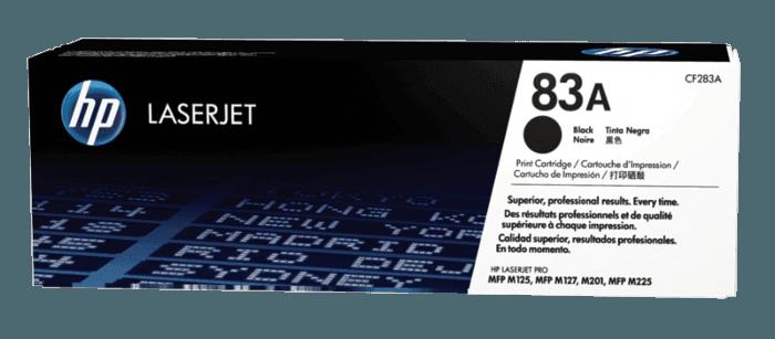 Cartucho de Toner HP 83A Preto LaserJet Original