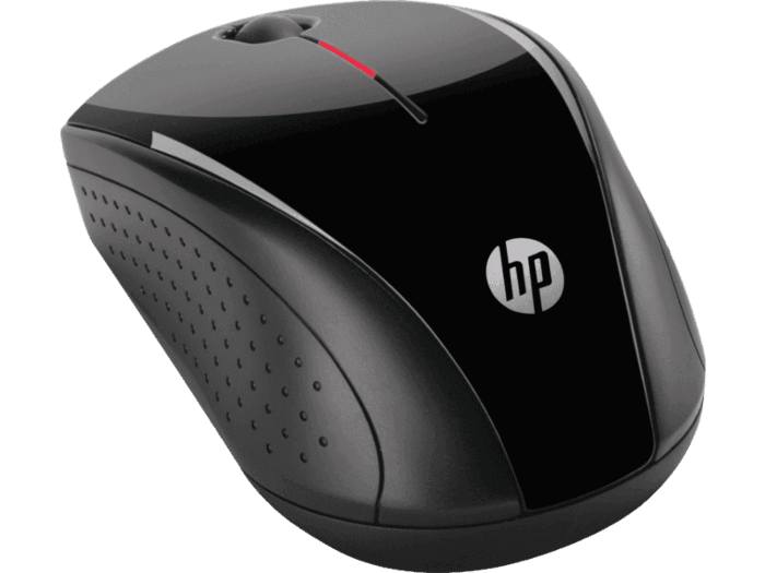 Mouse Wireless Óptico Led 1200 Dpis X3000 Prata K5d28aa Hp