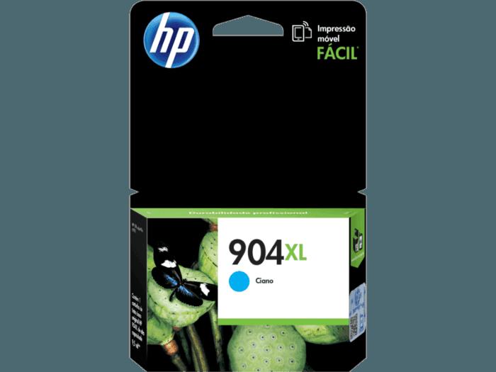 Cartucho de Tinta HP 904XL Ciano de Alto Rendimento Original
