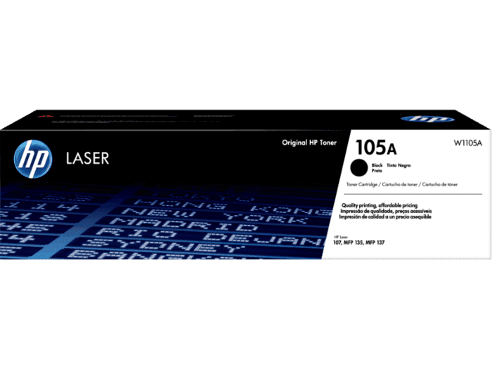 Cartucho de Toner HP 105A Preto Laser Original