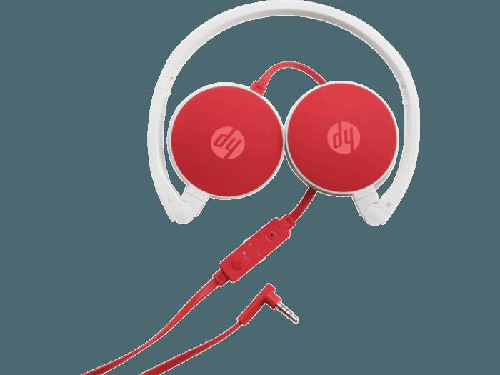 Headset Estéreo Vermelho HP 2800