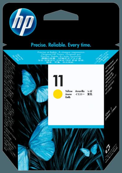 Cabeça de Impressão HP 11 Amarelo Original