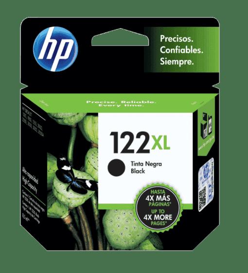 Cartucho de Tinta HP 122XL Preto de Alto Rendimento Original