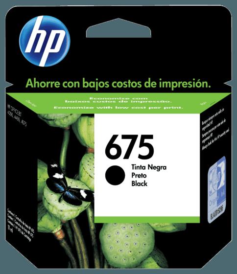 Cartucho de Tinta HP 675 Preto Advantage Original