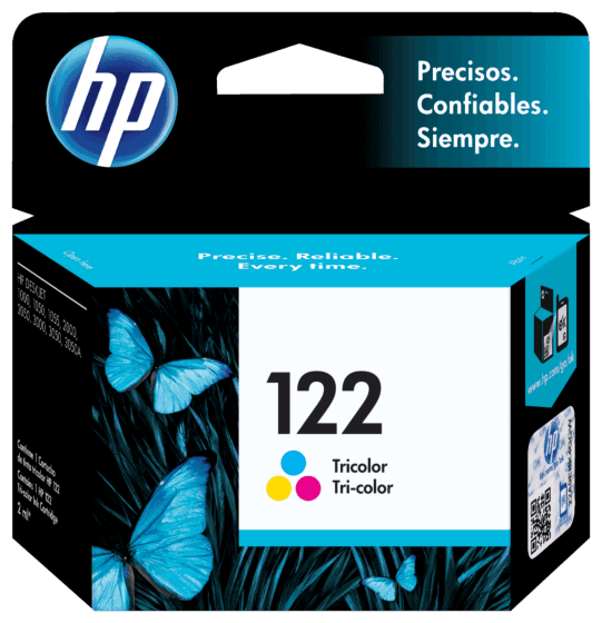 Cartucho de Tinta HP 122 Colorido Original