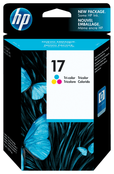 Cartucho de Tinta HP 17 Colorido Original