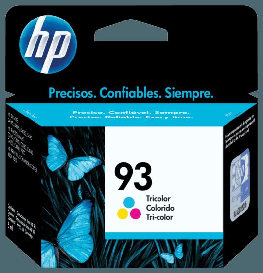 Cartucho de Tinta HP 93 Colorido Original
