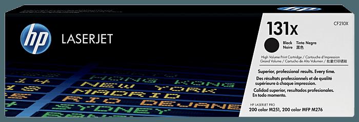 Cartucho de Toner HP 131X Preto de Alto Rendimento LaserJet Original