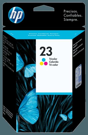 Cartucho de Tinta HP 23 Colorido Original