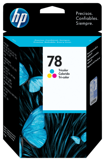 Cartucho de Tinta HP 78 Colorido Original