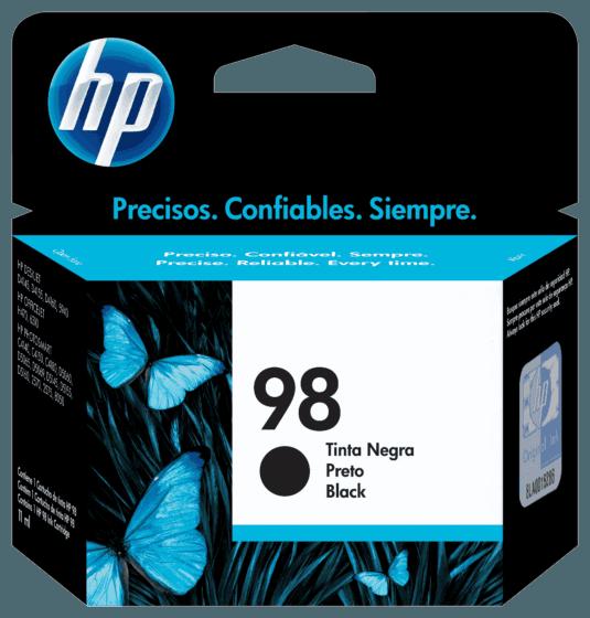 Cartucho de Tinta HP 98 Preto Original