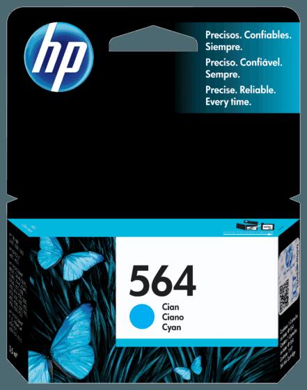 Cartucho de Tinta HP 564 Ciano Original