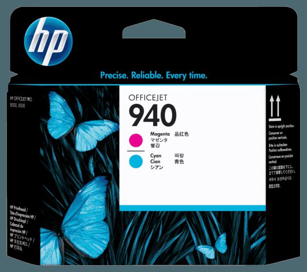 Cabeça de Impressão HP 940 Magenta e Ciano Officejet Original