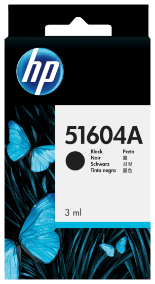Cartucho de Tinta HP Preto para Papel Normal