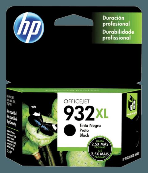 Cartucho de Tinta HP 932XL Preto de Alto Rendimento Original