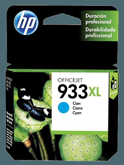 Cartucho de Tinta HP 933XL Ciano de Alto Rendimento Original
