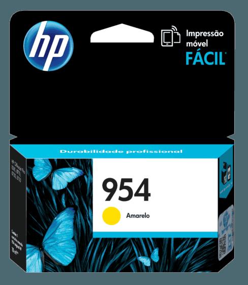 Cartucho de Tinta HP 954 Amarelo Original