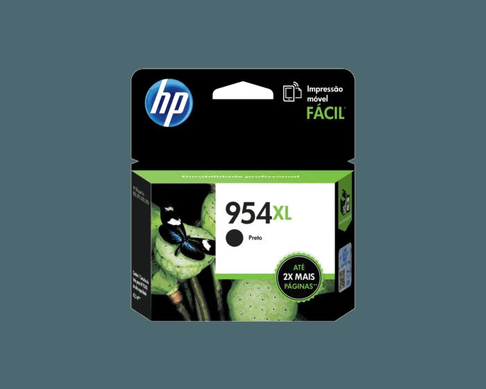 Cartucho de Tinta HP 954XL Preto de Alto Rendimento Original