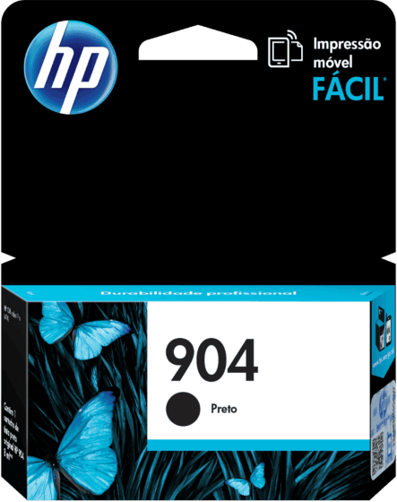 Cartucho de Tinta HP 904 Preto Original