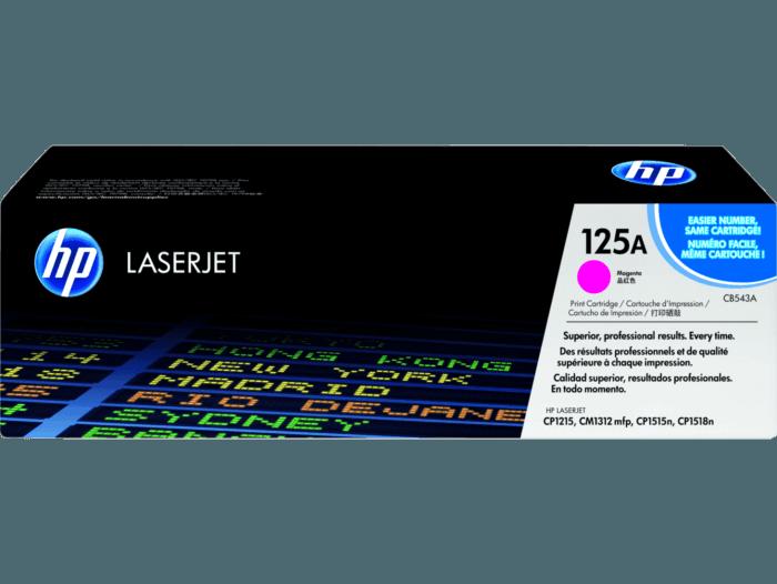 Cartucho de Toner HP 125A Magenta LaserJet Original