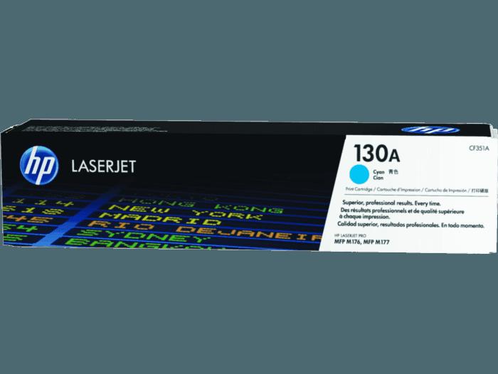 Cartucho de Toner HP 130A Ciano LaserJet Original