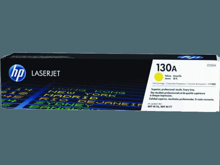 Cartucho de Toner HP 130A Amarelo LaserJet Original