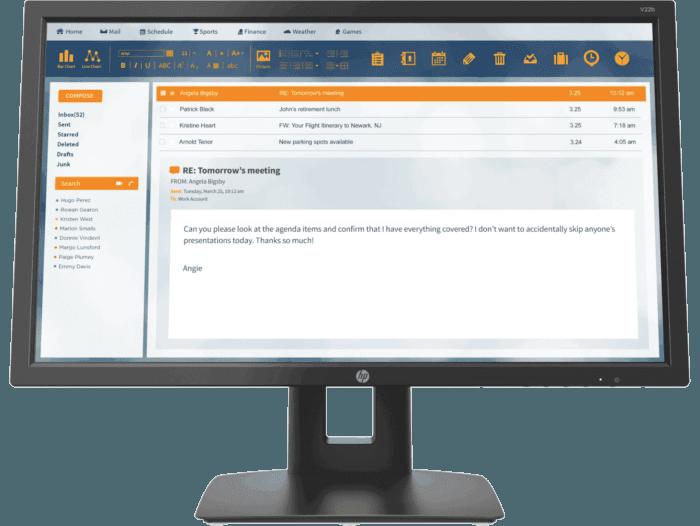 Monitor HP V22b