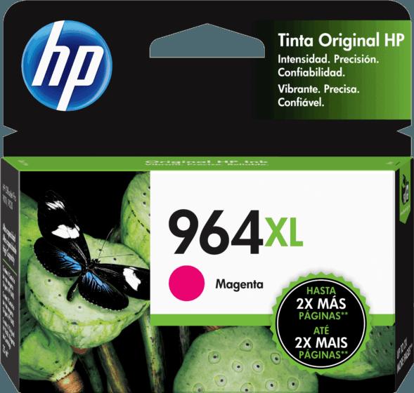 Cartucho de Tinta HP 964XL Magenta de Alto Rendimento Original