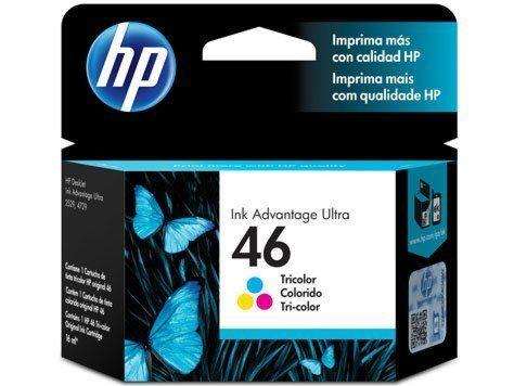 Cartucho de Tinta HP 46 Colorido Advantage Original