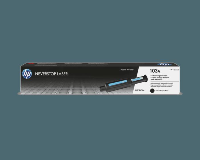 Kit de Recarga do Toner Laser HP 103A Preto Neverstop Original