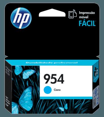 Cartucho de Tinta HP 954 Ciano Original