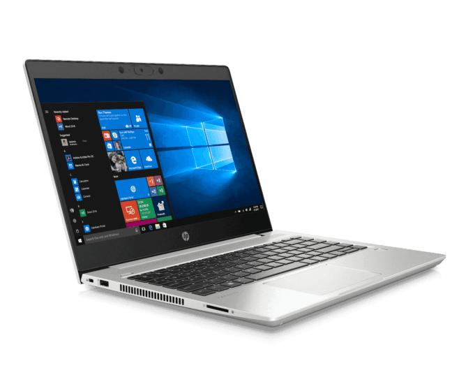 "Notebook - Hp 1h9l8la Amd Ryzen 5 4500u 2.30ghz 8gb 256gb Ssd Amd Radeon Windows 10 Professional Probook 445 G7 14"" Polegadas"